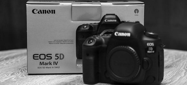 A jednak … Canon 5D Mark IV